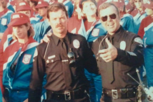 Police on set